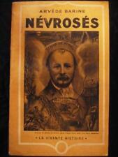 NEVROSES ARVEDE BARINE - T de QUINCEY G de NERVAL 1936