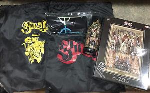 GHOST BC Band VIP Tour Items Candle Puzzle Socks Bags, Papa Emeritus Nihl Copia