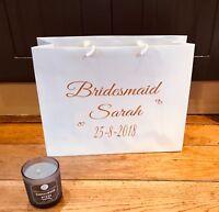 Personalised Gift Bag Gift bags for Bridesmaids Gift Bag Birthday gift bag