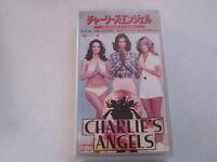 Charlie's Angels Special Version japanese movie VHS japan