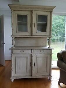 lovely antique cupboard - very shabby chic