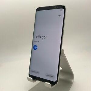 Samsung Galaxy S8 64GB Arctic Silver Xfinity Excellent Condition Burn-In