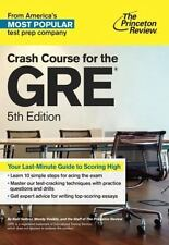 Graduate School Test Preparation: Crash Course for the GRE, 5th Edition (2014, …