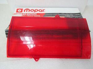 Mopar NOS 1972-73 Plymouth Custom & Sport Suburban Right Tailgate Lens 3514406