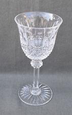 verre à vin de Bourgogne n°3 en cristal taillé Saint-Louis modèle Tommy 17 cm