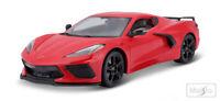 Maisto 1:18 Diecast Special Edition - Red 2020 Chevrolet Corvette C8 Stingray