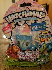 (1D1) HATCHIMALS Cookie Macaroon Hatchi-Mallows Soft Squishy Figure Sweet Series