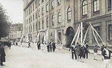 RIGA, LATVIA - CONFIRMATION PROCESSION - ORIGINAL ca 1930's REAL PHOTO POSTCARD