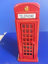 LONDON TELEPHONE BOX METALLIC LONDON SOUVENIR GIFT