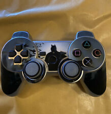 Silver Black Batman Wireless Ps3 Controller Playstation 3 PAD Double Shock Game