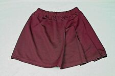 Augusta Sportswear Burgundy Cheerleader Pleaded Skirt Ladies Medium