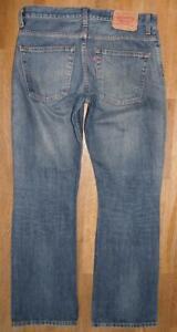 """>>> LEVI`S 507 Herren- JEANS / LEVIS Blue-Jeans in blau in W32"""" /L32"""""""