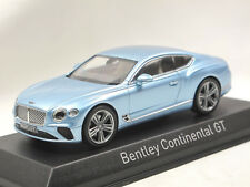 Norev 270321 - 2018 Bentley Continental GT - blau metallic - Modellauto 1:43