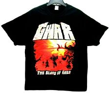 2018 GWAR The Blood of Gods Size XL Concert T Shirt Black