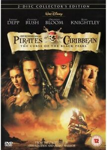 Pirates of the Caribbean: The Curse of the Black Pearl (DVD, 2003)