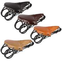 Lepper L 85 Hammock Kern Leder Fahrrad Sattel Retro Vintage Komfort gefedert Rad