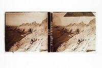 Punta Raz Finistere Francia Placca Da Lente Stereo 6x13cm Vintage Ca 1910