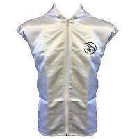 Tuf Wear Boxing Jacket - Adult Satin Ring White