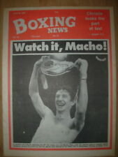 June Boxing News Magazines