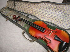 "Very nice  old 4/4 Violin  violon! ""Stradiuarius"" Lined & blocked"