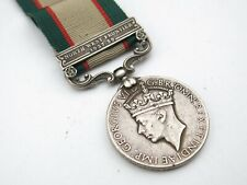 Post WWI George VI INDIA General Service Medal North West Frontier 1937-39 Bar