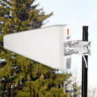 Wideband 10dBi Directional Outdoor Log Periodic Yagi Antenna 50 Ohm 2G 3G 4G LTE