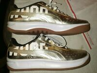 PUMA CALIFORNIA HOLLYWOOD CA 101 Gold 367922 01 Men's fashion shoes Size 11.5