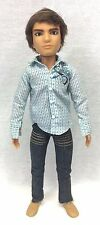 "Liv Doll Jake Boy Male Guy 12"" Jointed Brown Rooted Hair Night Out Outfit Shoes"