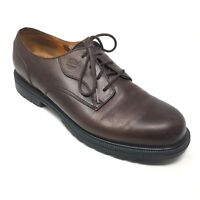 fdc1633f72 Men's Timberland Waterproof Oxfords Shoes Size 11.5M Brown Leather Plain  Toe R1