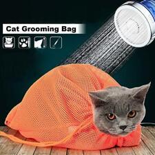 Mesh Cat Kitten Bath Bag No Biting Scratching Restraint Nail Grooming
