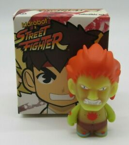 Kidrobot Street Fighter Blanka GID 3 inch Blind Box NYCC Exclusive