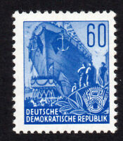 East Germany 60pf Stamp c1953 Unmounted Mint Never Hinged (8180)