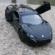 Lykan Hypersport 1:32 Model Cars Alloy Diecast  Black Toys Collection&Gifts