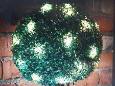 Stunning Christmas 28cm/Warm white LED Lights/ Decoration garden solar powered