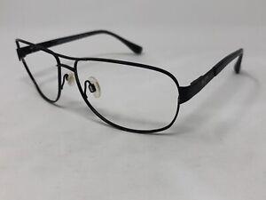 "MAUI JIM ""SAND ISLAND"" Sunglasses Frame Japan MJ-253-2M 63-15-120 Black I615"
