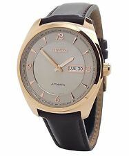 Seiko Automatic SNKN72 Mens Stainless Recraft Series Brown Leather 45mm Watch