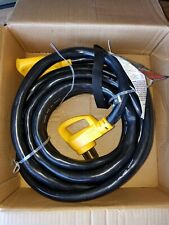 New Camco Power Grip Heavy-duty Extension Cord, 30 ft. 50 Amp Male-50 Amp Female