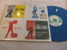 """maxi 45t  Johnny Hallyday  """"4 juke-box sur 1 maxi 45T""""   vinyle BLUE"""