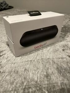 Beats Pill Plus Bluetooth Speaker Black, With Charger, And Wear, Works Good