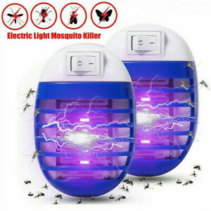 Electric UV Light Mosquito Killer Insect Fly Zapper Bug Trap Catcher Lamp