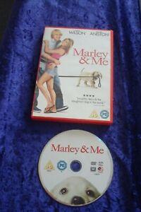 DVD.MARLEY & ME.WILSON.ANISTON.COMEDY DRAMA DOG.SAD FILM.MOVING PUPPY REGION 2