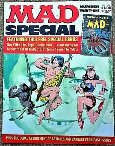 MAD SPECIAL #21 1976! NEAR MINT! $0.99 Start! Truly GORGEOUS! Close to PERFECT!