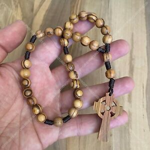 Prayer beads, Anglican rosary, Olive wood rosary, Protestant rosary, Bethlehem