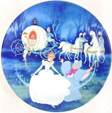Disney Collector Plate Cinderella Bibbidi-Bobbidi-Boo Knowles 1988 Le