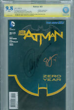 Batman #21 CBCS 9.8 SIGNED Scott Snyder Greg Capullo DC New 52