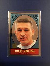 2000 Topps Chrome # 133 JOHNNY UNITAS Reprint # R11 of 18 Baltimore Colts 1967