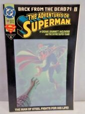 DC COMICS THE ADVENTURES OF SUPERMAN BACK FROM THE DEAD #500 1993