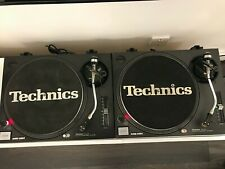 PAIR TECHNICS SL1210 1200 MK2 REFURBED GREAT CONDITION WITH AUDIO TECHNICA CARTS