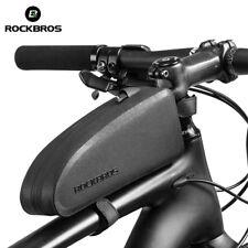 ROCKBROS Bicycle Bag Waterproof Cycling Top Front Tube Frame Bag Large Capacity