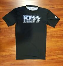 Under Armour Men's KISS Black HeatGear Short Sleeve Compression Shirt M Medium